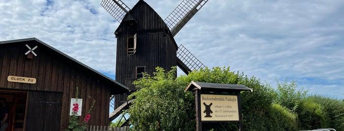 Bockwindmühle Pudagla is one of Oostzeekust 🇩🇪.