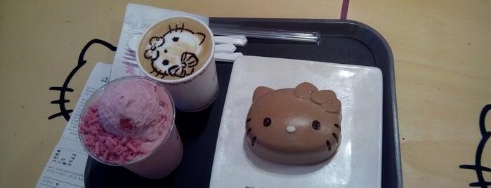 Hello Kitty Café is one of Yaxaiira 님이 좋아한 장소.
