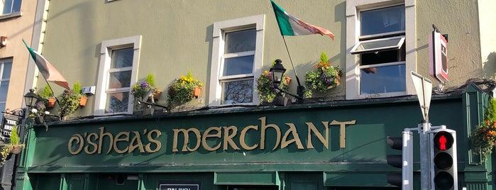 O'Sheas Merchant is one of Dublin.