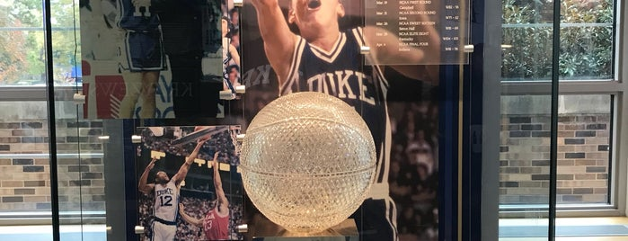 Duke Basketball Museum & Duke Athletics Hall of Fame is one of North Carolina.