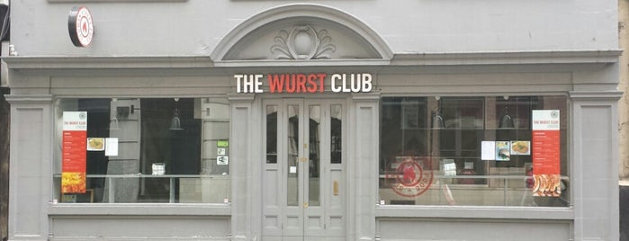 The Wurst Club is one of German & Austrian Food in London.