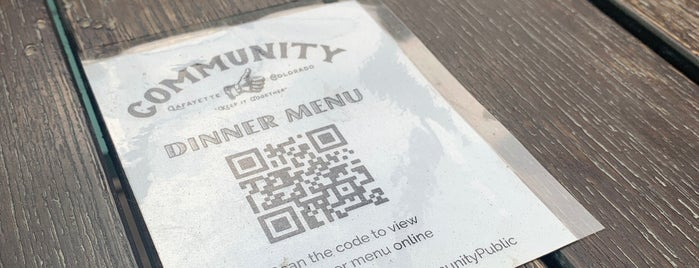 Eat at Community is one of Tempat yang Disukai kraig.