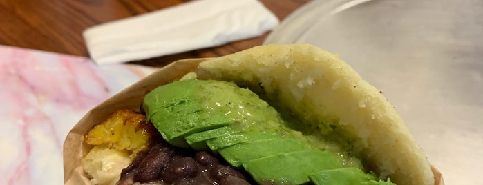 Quiero Arepas is one of Places to try.