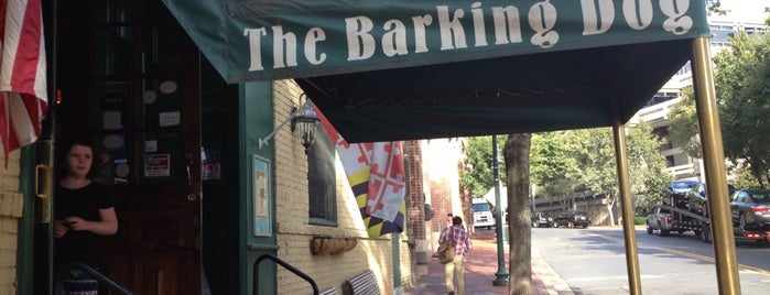 The Barking Dog is one of Local Redskins Rally Bars.