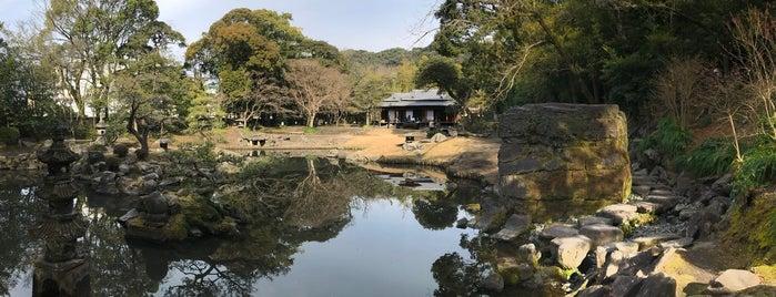 旧島津氏玉里邸庭園 is one of 西郷どんゆかりのスポット.