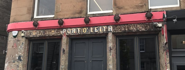 Port O Leith Bar is one of Ya he estado.