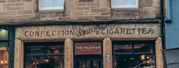 The Milkman is one of Edinburgh.
