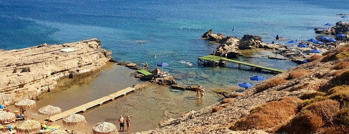 Nicolas Beach is one of Rodos.