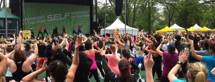 SELF Workout in the Park is one of NY.
