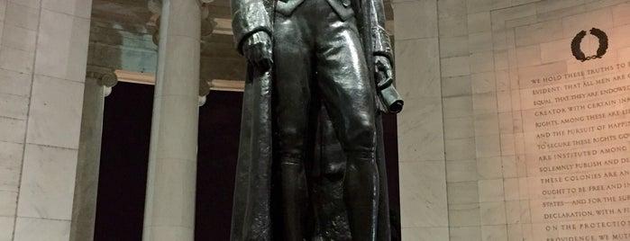 Thomas Jefferson Memorial is one of DC Metro.