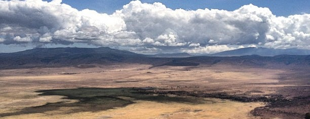 Ngorongoro Crater is one of The Amazing Race 20 map.