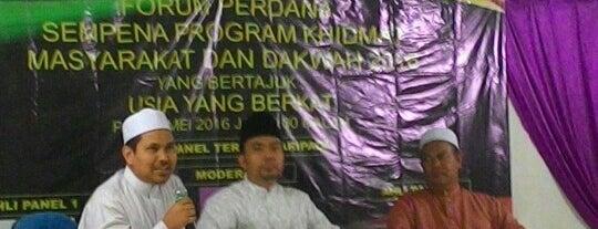 Masjid Kuala Medang is one of masjid.