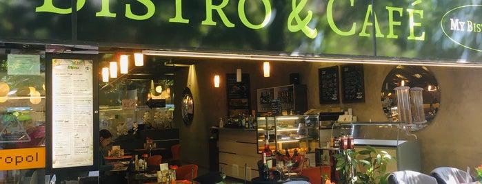 My Bistro & Café is one of Orte, die Mikko gefallen.