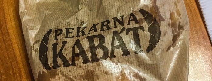 Pekárna Kabát is one of Lugares favoritos de Miroslav.
