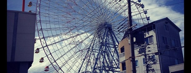 Tempozan Giant Ferris Wheel is one of Japan Point of interest.