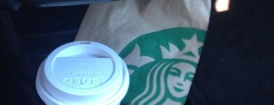 Starbucks is one of Tempat yang Disimpan Lyss.