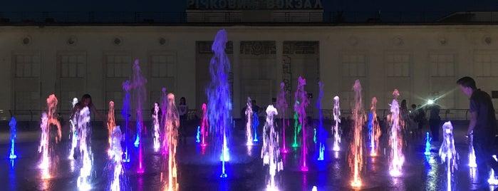 Фонтан на Поштовій площі is one of Posti che sono piaciuti a Александр.