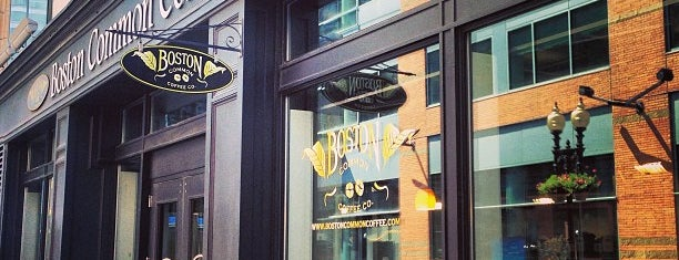 Boston Common Coffee Company is one of When in Boston.