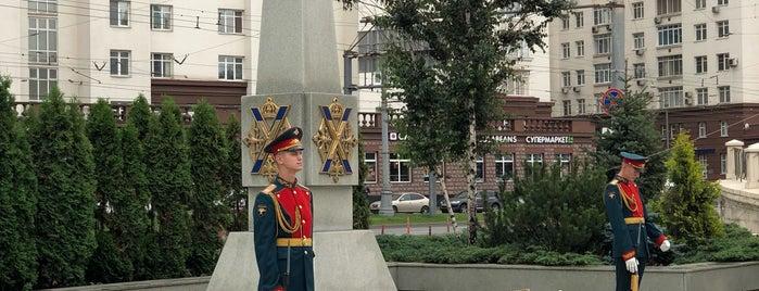 Памятник воинам Преображенского полка is one of Lieux qui ont plu à Jano.