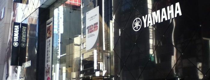 ヤマハミュージックリテイリング 銀座店 is one of สถานที่ที่ eureka ถูกใจ.