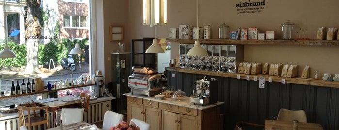 einbrand is one of #ThirdWaveWichteln Coffee Places.