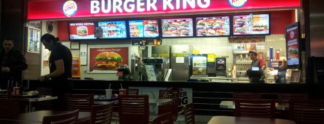 Burger King is one of Tempat yang Disukai 🌜🌟hakan🌟🌛.