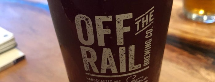 Off The Rail Brewing Co is one of YVR Beer.