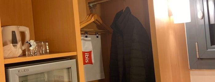 ibis Hotel is one of Tempat yang Disukai 🇹🇷.