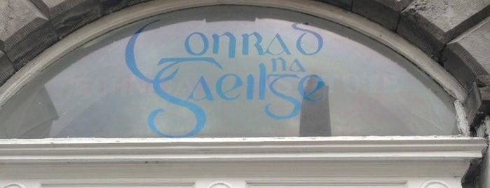 Conradh na Gaeilge is one of Gaeilge  Anseo.