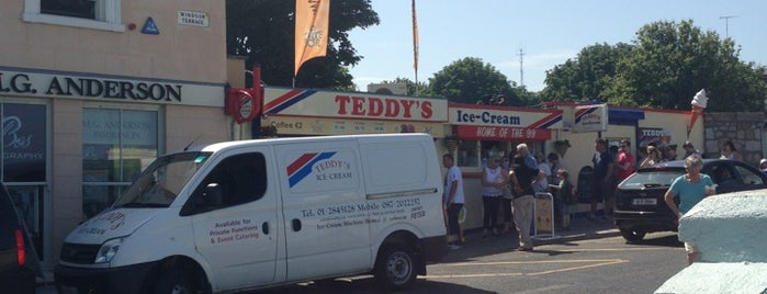 Teddy's Ice Cream Parlour is one of Dublin.