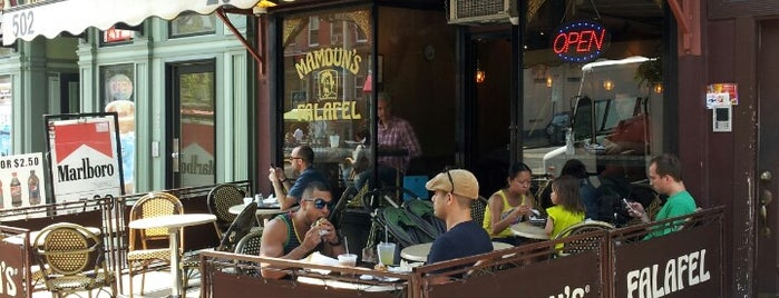 Mamoun's Falafel is one of Hoboken Eats.