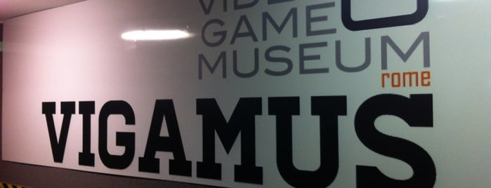 VIGAMUS - The Videogame Museum of Rome is one of Posti che sono piaciuti a Chris.