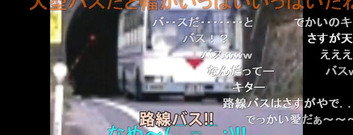 玉津隧道 is one of 四国の酷道・険道・死道・淋道・窮道.