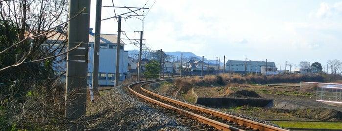 JR予讃線 大町勝手踏切 is one of 撮り鉄スポット.