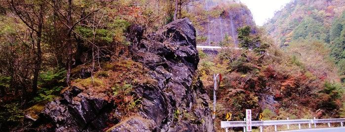 日浦谷川橋 is one of 四国の酷道・険道・死道・淋道・窮道.