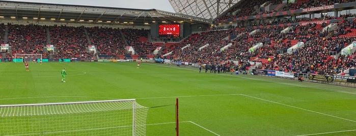 Ashton Gate Stadium is one of Football Stadiums.