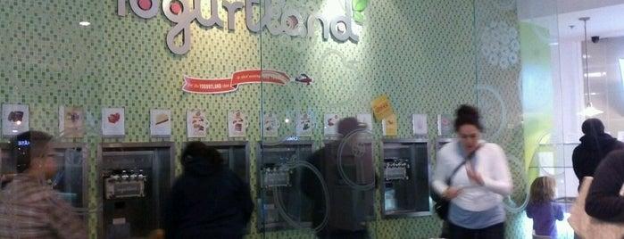 Yogurtland is one of Favorite Food.