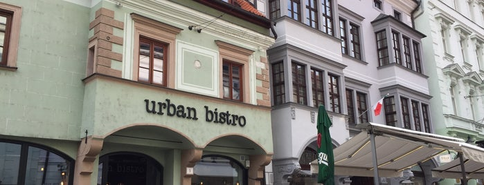 Urban Bistro is one of electrobabe's bratislava.