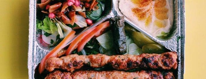 Kebab time is one of Riyadh.