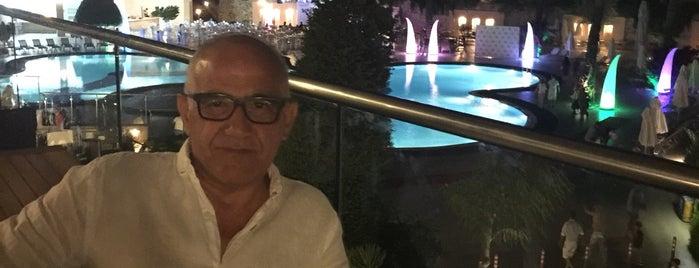Hilton Bodrum Lobby Lounge is one of Merve'nin Beğendiği Mekanlar.