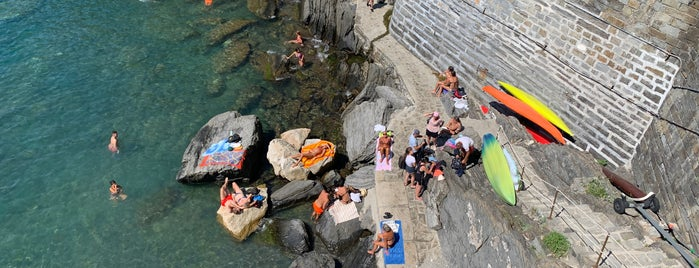 Spiaggia Vernazza is one of Best Around the World!.