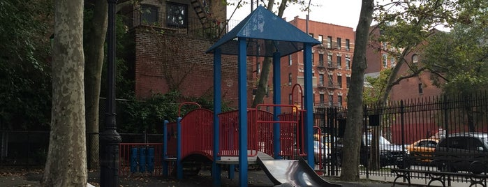 Playground of the Americas is one of NYC with a toddler.