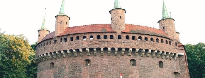 Barbakan is one of Explore Krakow.