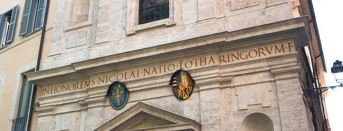 Chiesa di San Nicola dei Lorenesi is one of Rome / Roma.