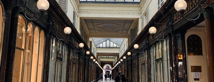 Galerie Véro-Dodat is one of Paris.