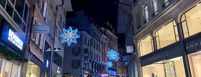 Rue de Bourg is one of Geneva.