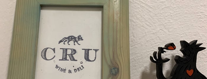 CRU Wine & Deli is one of Lugares guardados de Fabiola.