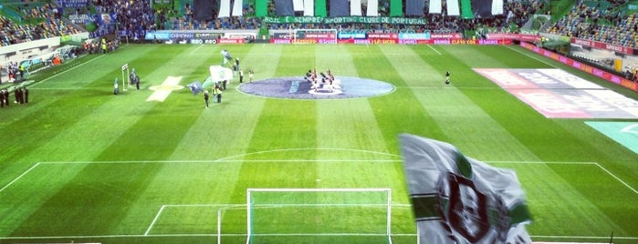 Estádio José Alvalade is one of JRA 님이 저장한 장소.