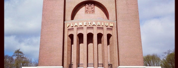 Planetarium Hamburg is one of hamburg.