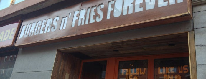 Burgers n' Fries Forever is one of GLBT Friendly Centertown Businesses.